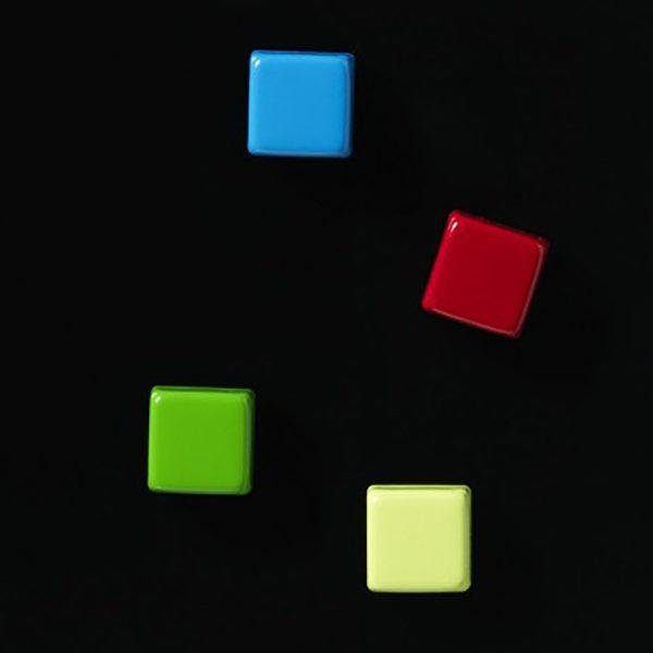 "Supermagneter ""Färgade"" 4-pack"