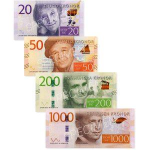 Demopengar, 4 nya sedlar