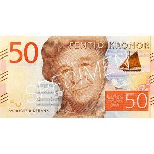 Pengar - Sedlar 50 kr / 100-pack