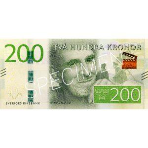 Pengar - Sedlar 200 kr / 100-pack