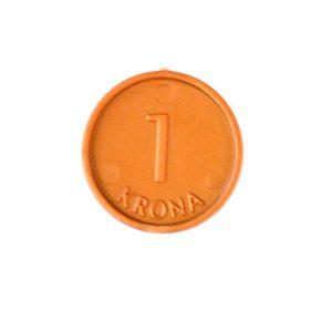 Pengar - Mynt 1 kr / 100-pack