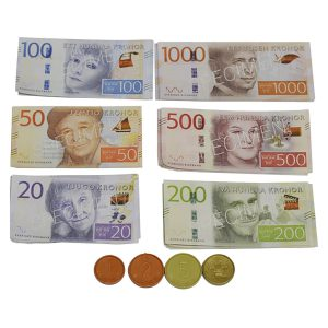 Pengar - Mynt- och sedelpåse