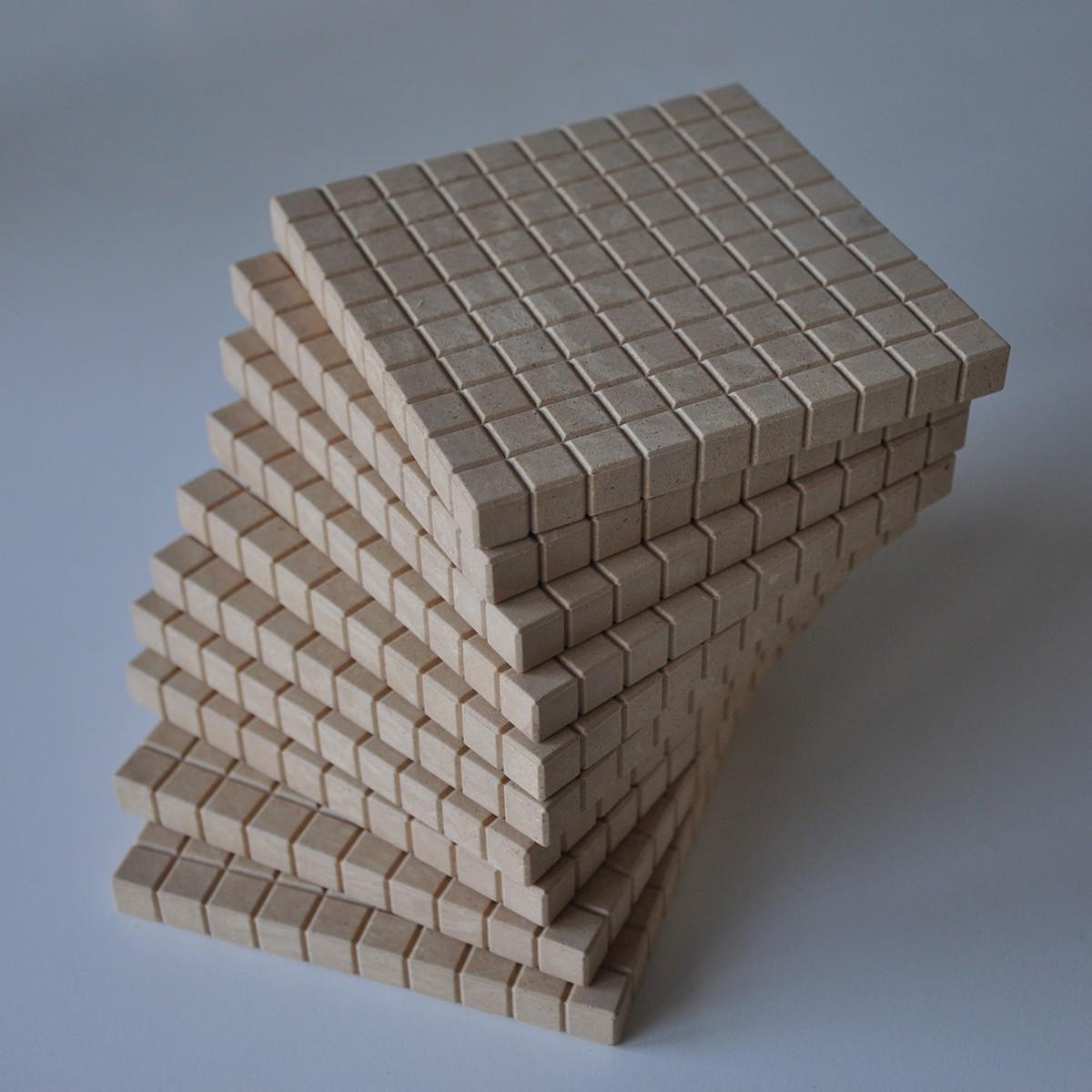 Bas10 RE-wood,10 hundraplattor