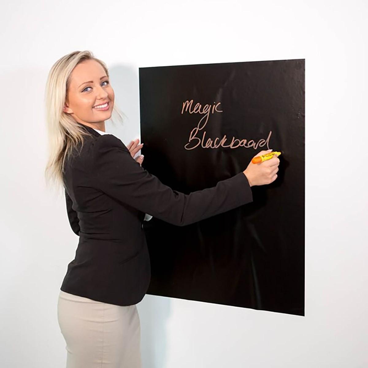 Magic Whiteboard svart 60x80 cm 10-pack