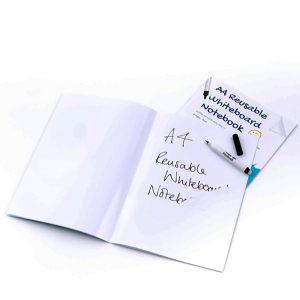 Whiteboard Skrivhäfte A4 blank