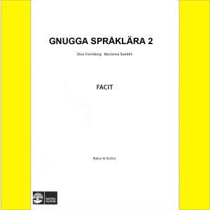 Gnugga Språklära , Facit 5-pack