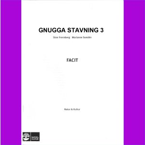 Gnugga Stavning , Facit 5-pack