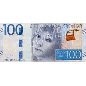Pengar - Sedlar 100 kr / 100-pack