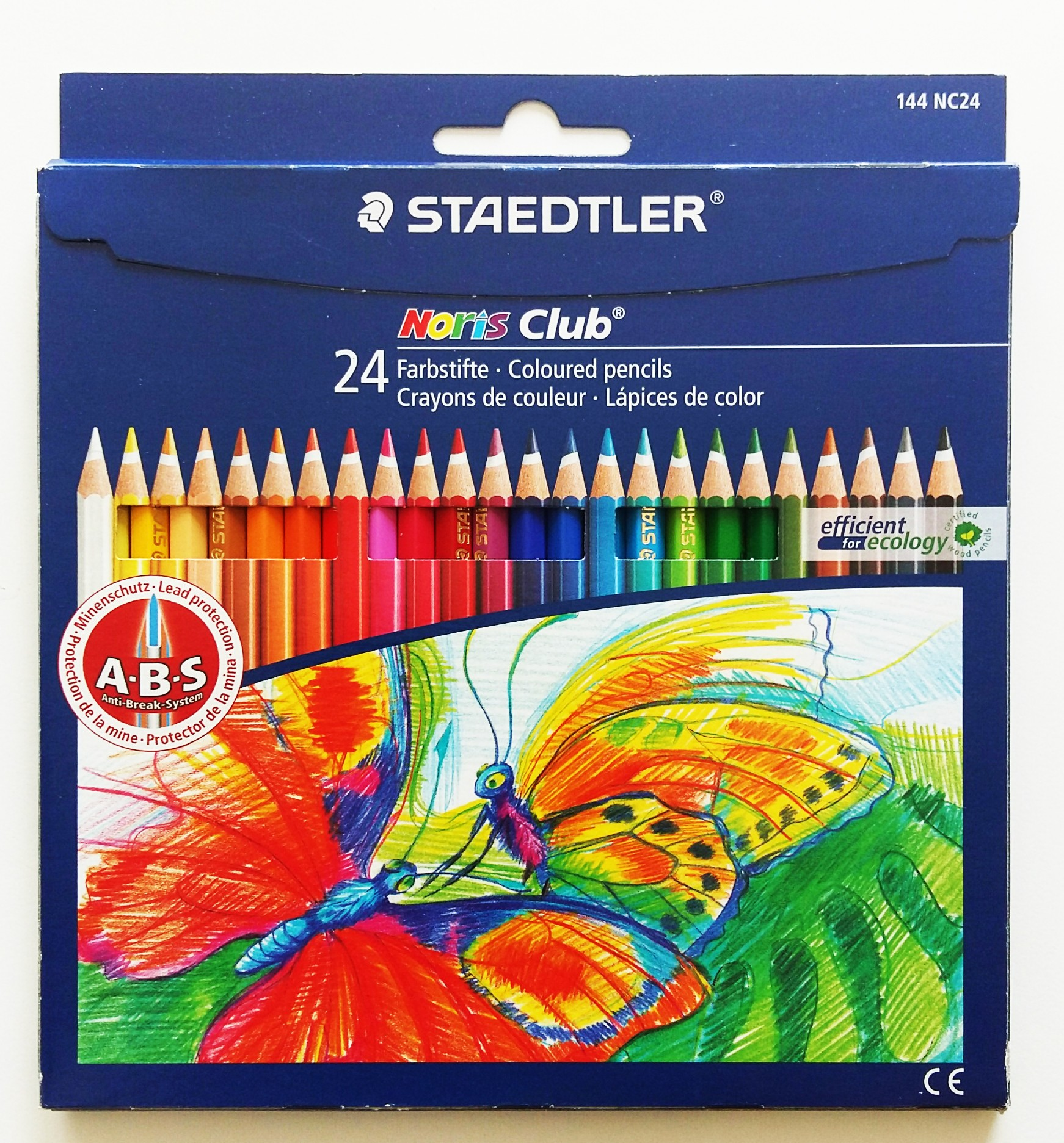 Färgpennor STAEDTLER Noris club 24 färger