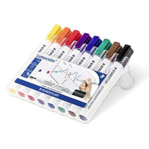 Staedtler Whiteboardpenna Lumocolor 8-pack