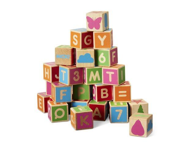 Alfabetsklossar 36delar