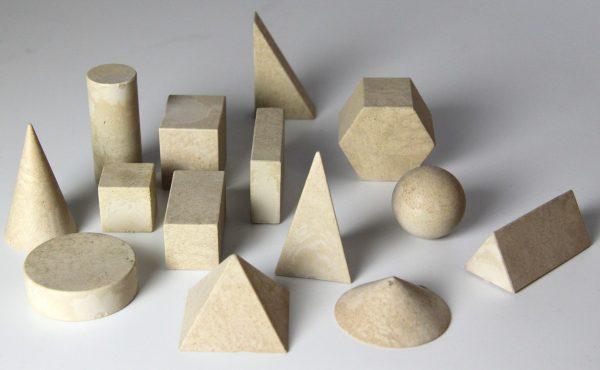 Geometriska figurer i Re-Wood