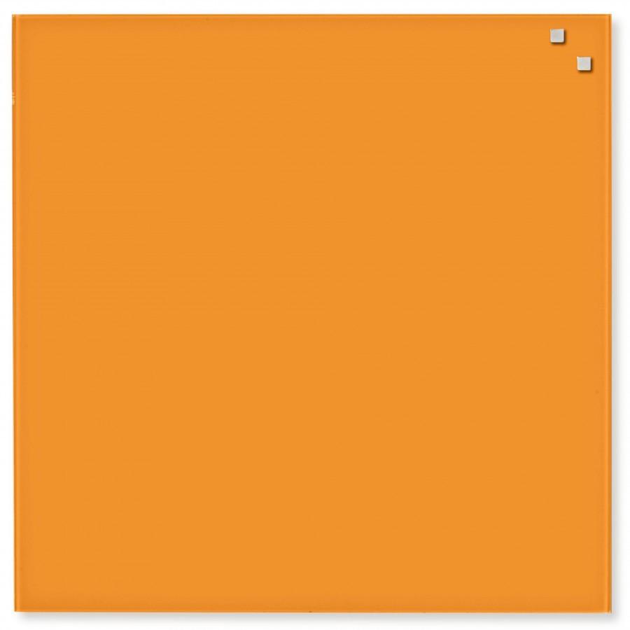 Glastavla Magnetisk 45x45 cm Orange