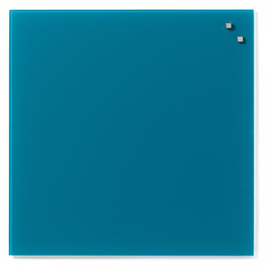 Glastavla Magnetisk 45x45 cm Aqua green