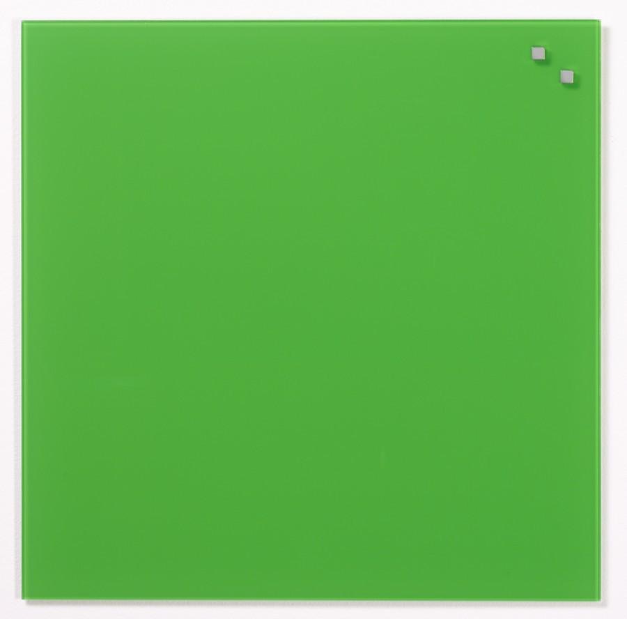 Glastavla Magnetisk 45x45 cm Grön