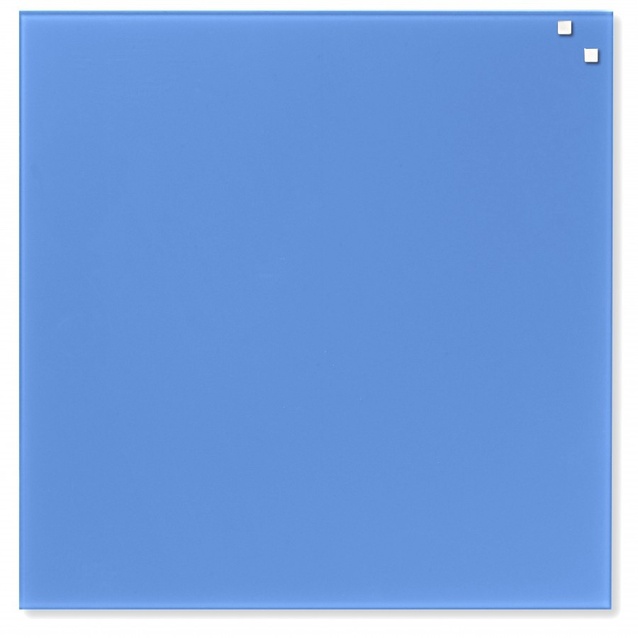 Glastavla Magnetisk 45x45 cm Cobalt blå