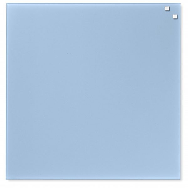 Glastavla Magnetisk 45x45 cm Ljusblå