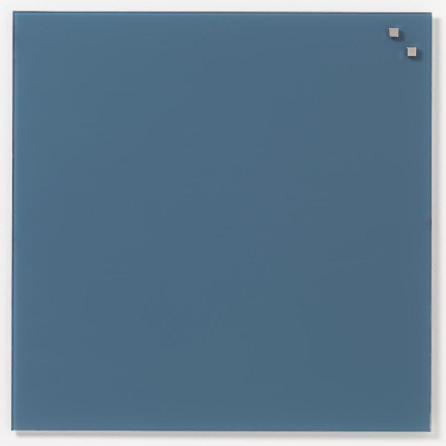 Glastavla Magnetisk 45x45 cm Jeansfärgad