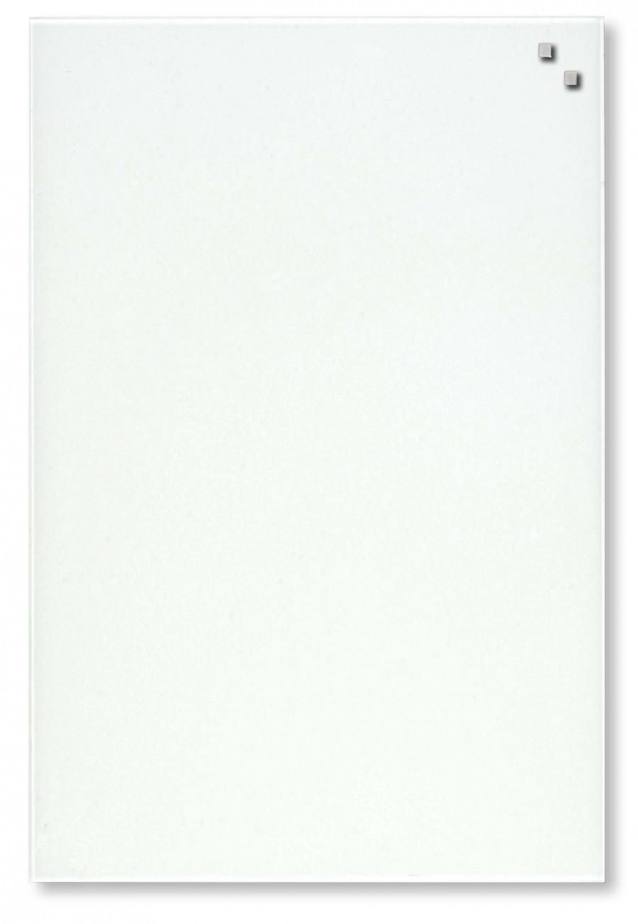 Glastavla Magnetisk 40x60 cm Vit
