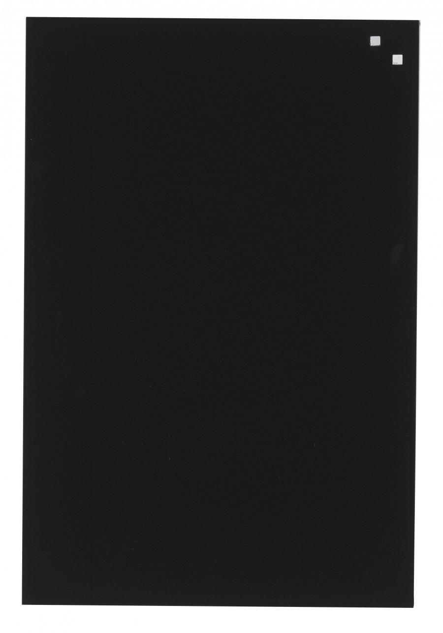Glastavla Magnetisk 40x60 cm Svart
