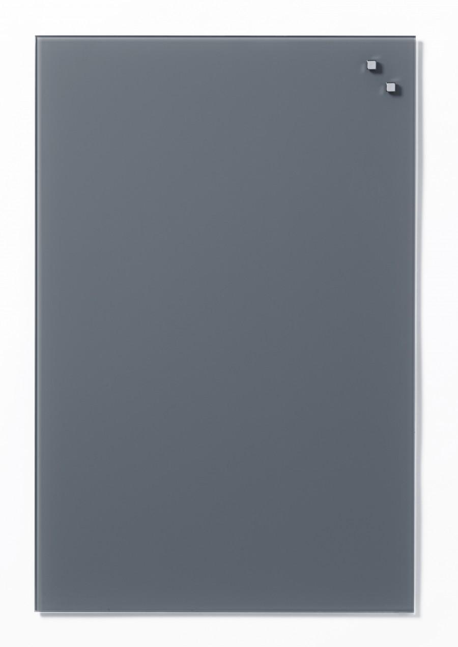 Glastavla Magnetisk 40x60 cm Grå
