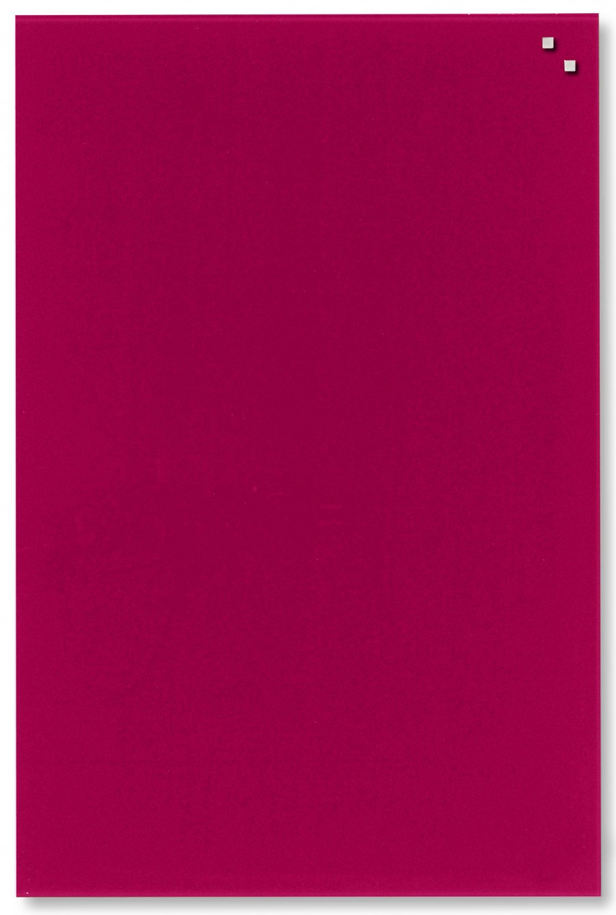 Glastavla Magnetisk 40x60 cm Röd