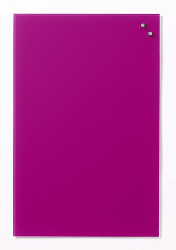 Glastavla Magnetisk 40x60 cm Rosa