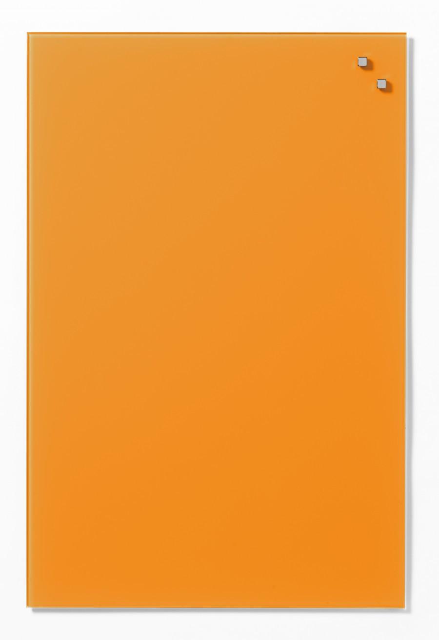 Glastavla Magnetisk 40x60 cm Orange