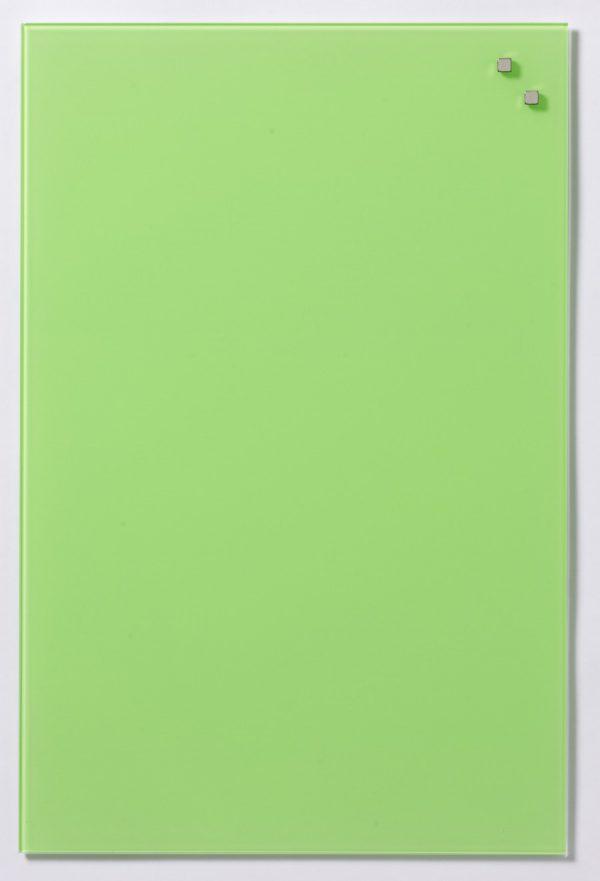 Glastavla Magnetisk 40x60 cm Ljusgrön