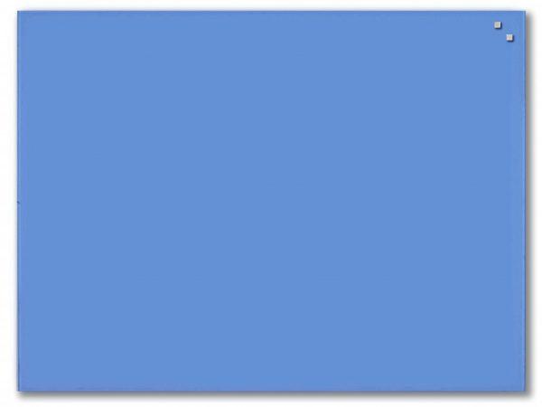 Glastavla Magnetisk 60x80 cm Kobalt blå