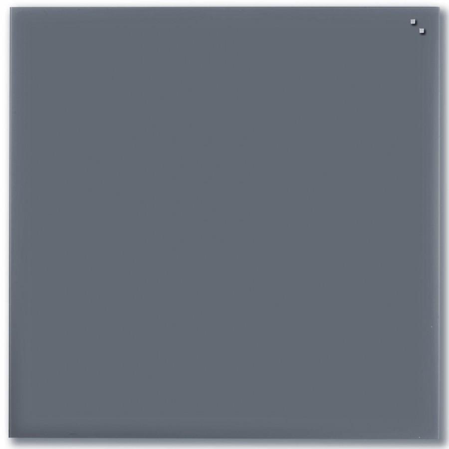 Glastavla Magnetisk 100x100 cm Grå