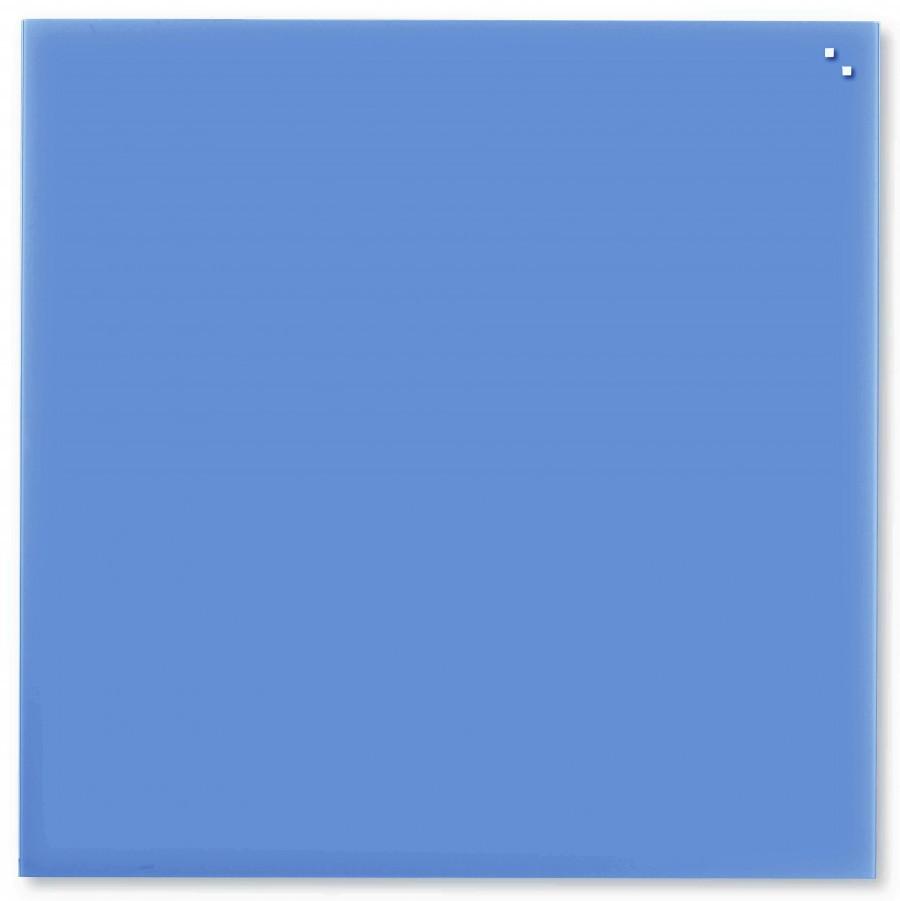 Glastavla Magnetisk 100x100 cm Kobalt blå