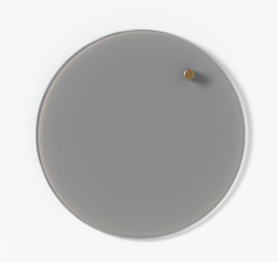 Glastavla magnetisk - Grå