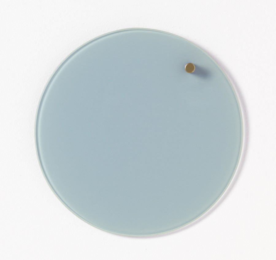Glastavla magnetisk - Ljusblå