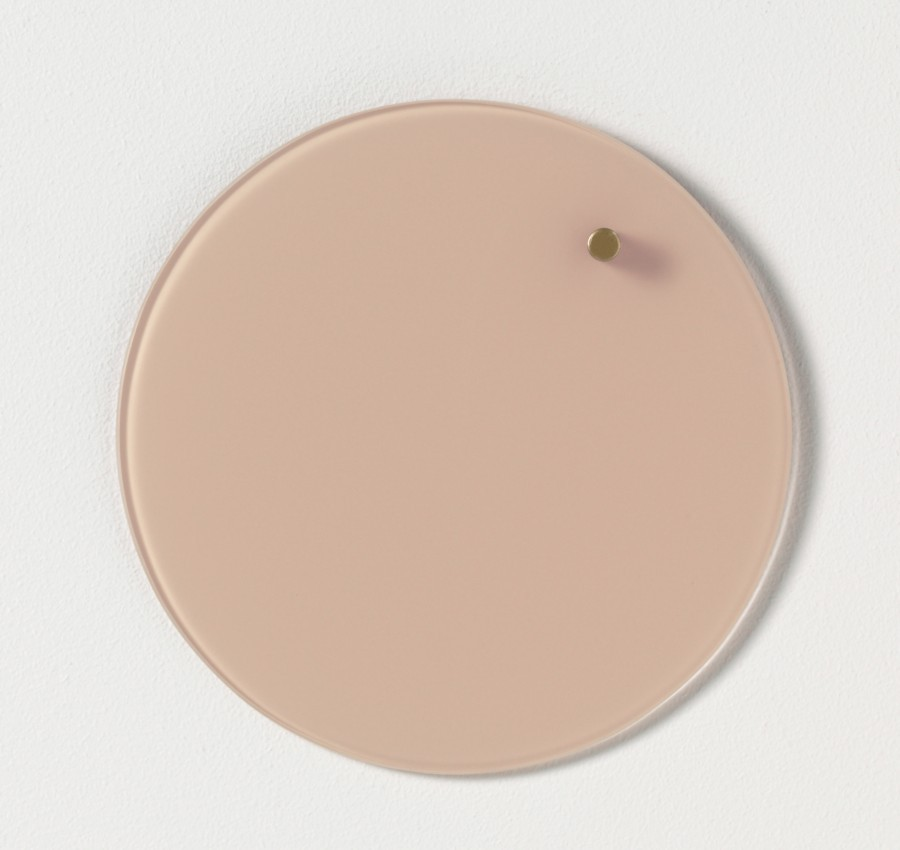 Glastavla magnetisk - Roséfärgad