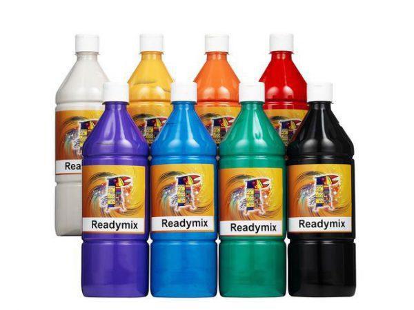 Readymix storsats 8 1000mlx8 färger