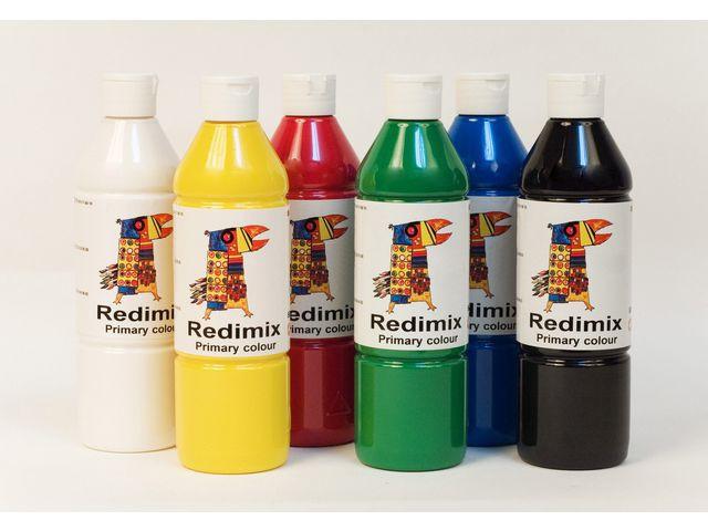 Readymix färglära 500mlx6 färger
