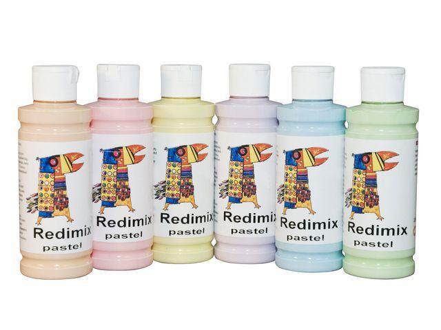 Readymix pastell 250mlx6 färger