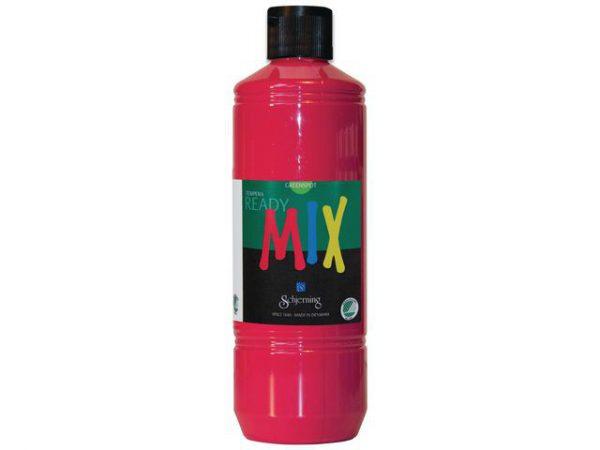 Readymix Svanenmärkt 500ml primärröd