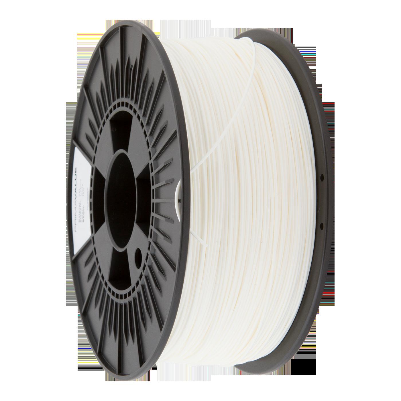 PrimaValue ABS Filament - 1.75mm - 1 kg spool - Vit