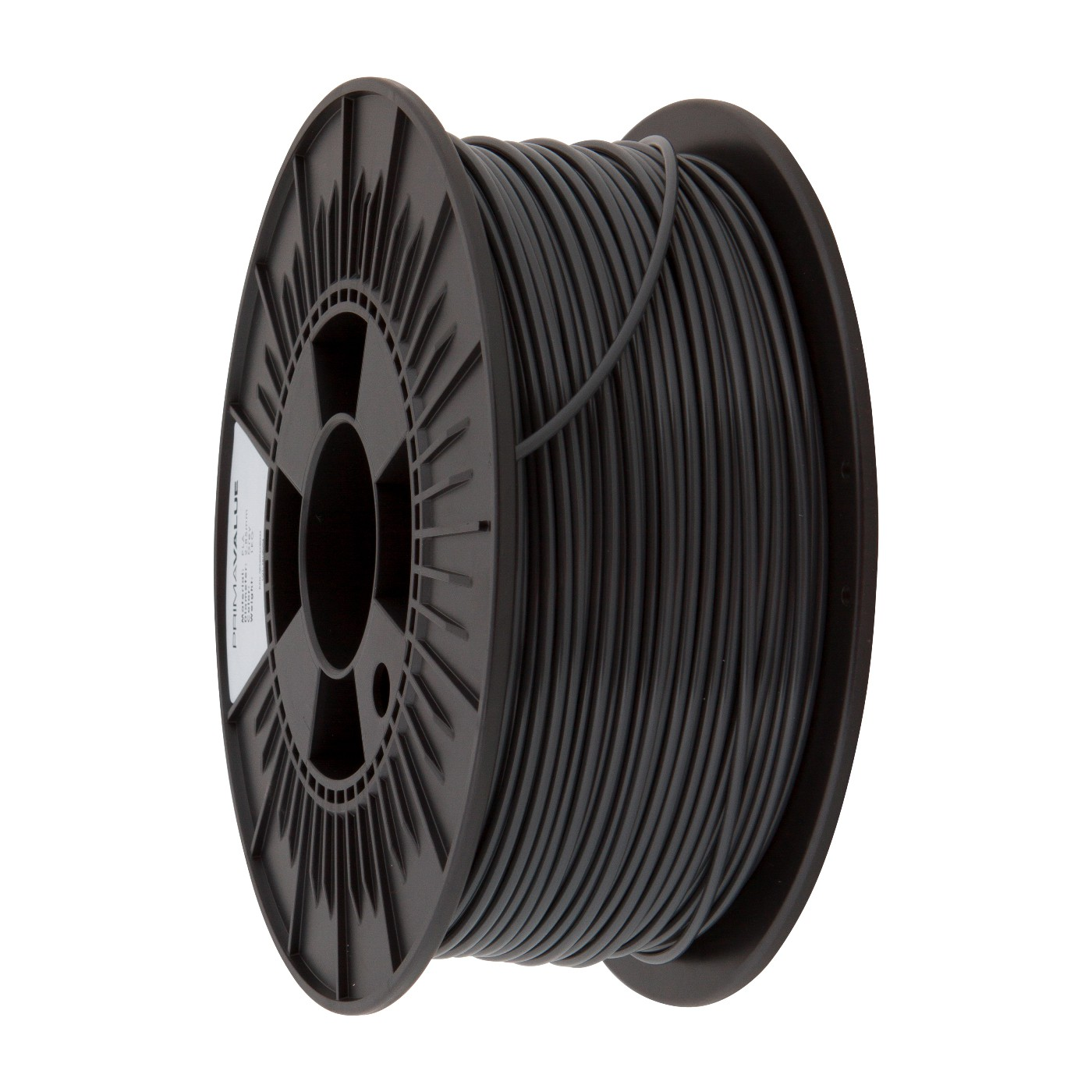 PrimaValue ABS Filament - 1.75mm - 1 kg spool - Mörkgrå