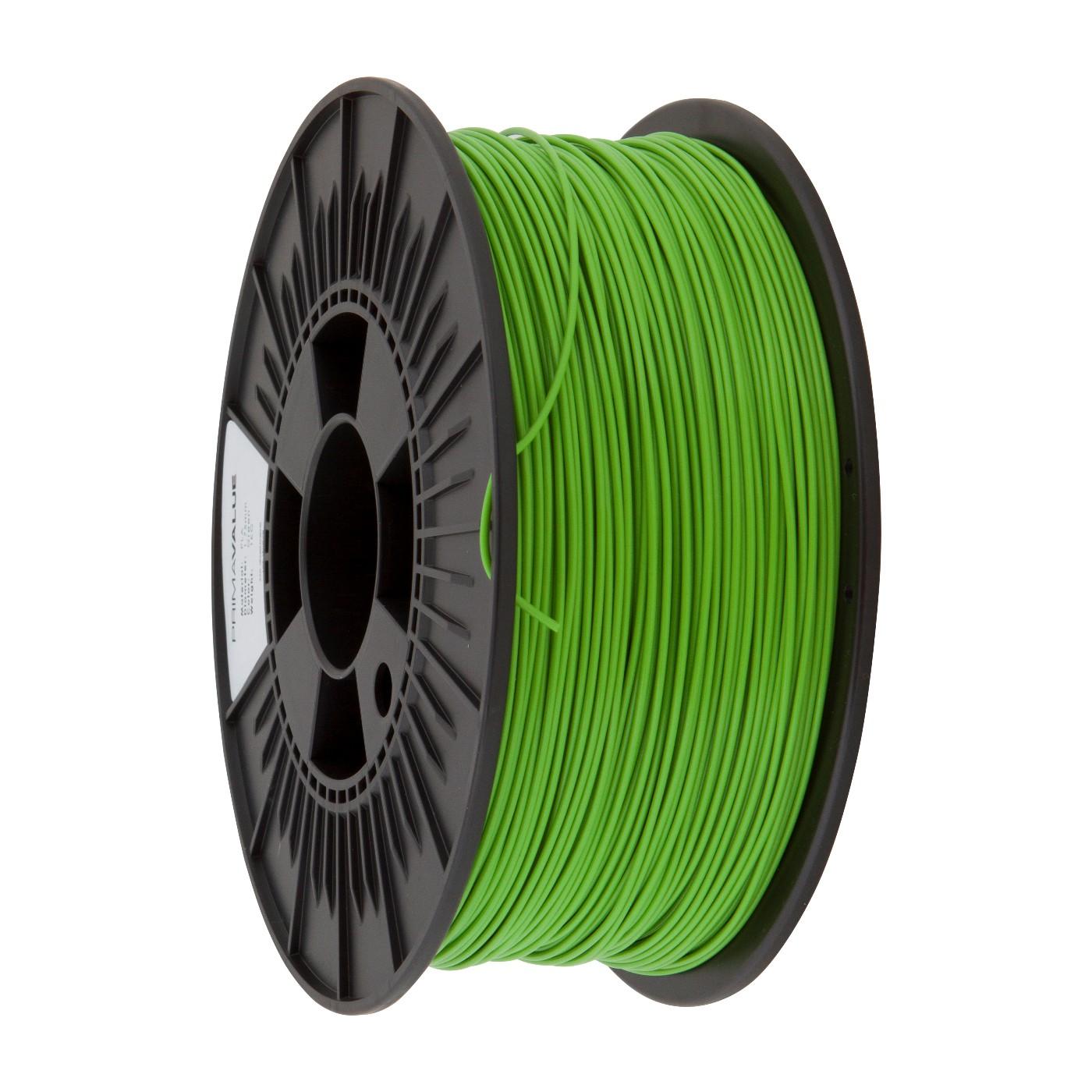 PrimaValue ABS Filament - 1.75mm - 1 kg spool -Grön