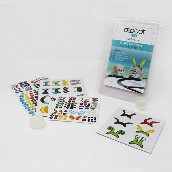 Ozobot Bit / DIY skin Accessory Pack for Ozobot Bit