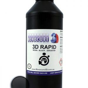 Monocure 3D Rapid Resin - 1 liter -svart