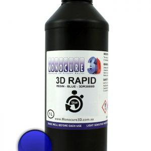 Monocure 3D Rapid Resin - 1 liter - blå
