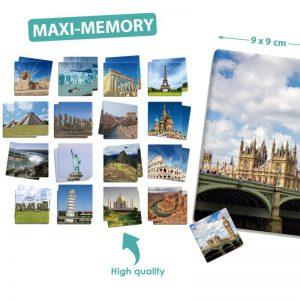 Maxi-Memory Platser På Jorden