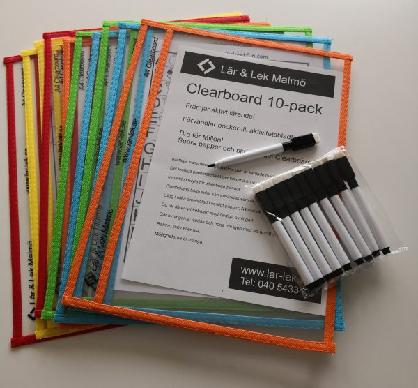Clearboard 10-pack
