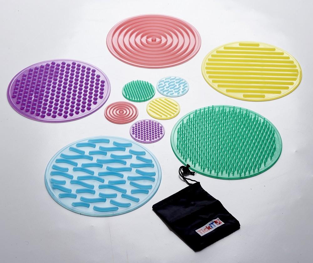 Känselplattor, silikon