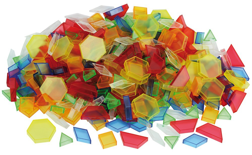 Mosaik transparent 180 delar