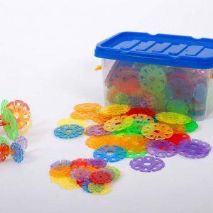Transparent Linking Discs